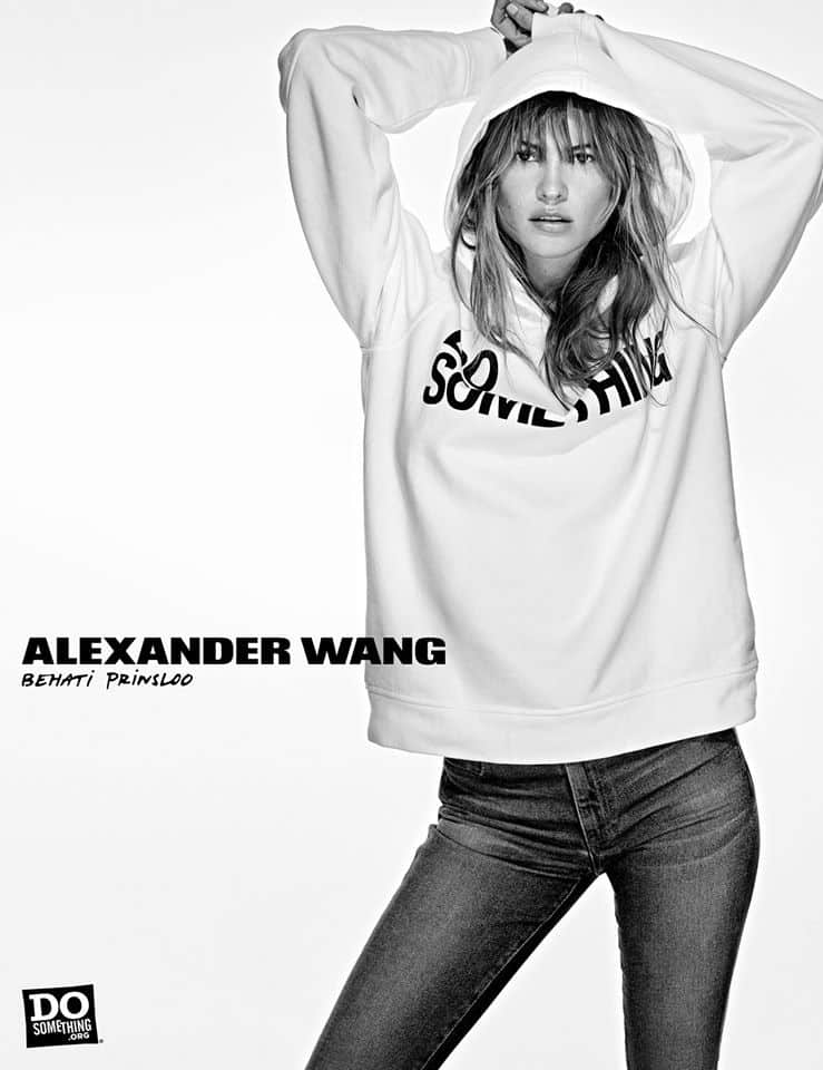 Do Something Alexander Wang Campaign by Steven Klein at IDsetters Behati Prinsloo