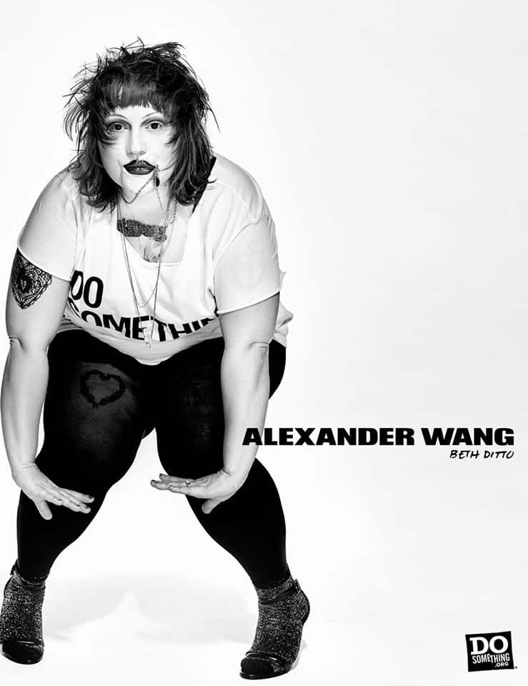 Do Something Alexander Wang Campaign by Steven Klein at IDsetters Beth Ditto