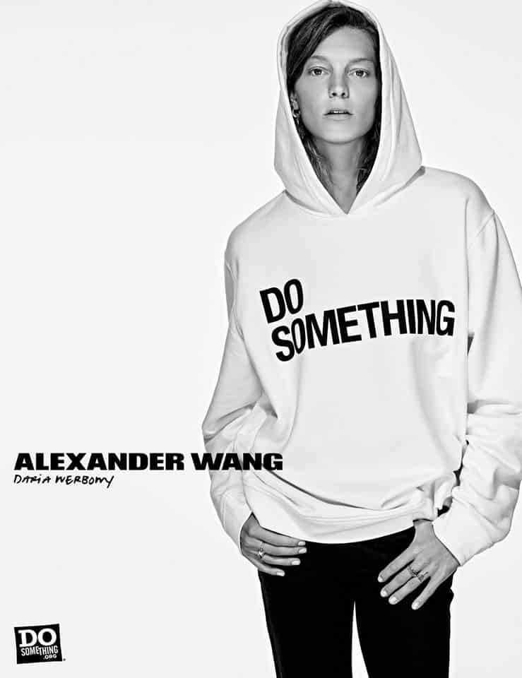 Do Something Alexander Wang Campaign by Steven Klein at IDsetters Daria Werbowy