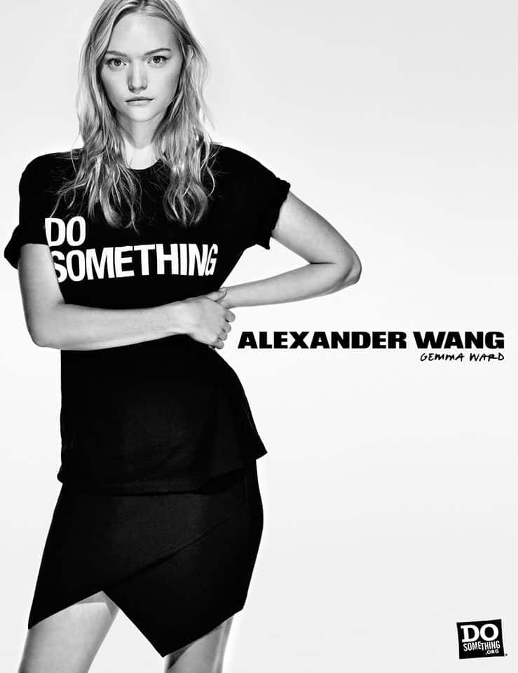Do Something Alexander Wang Campaign by Steven Klein at IDsetters Gemma Ward