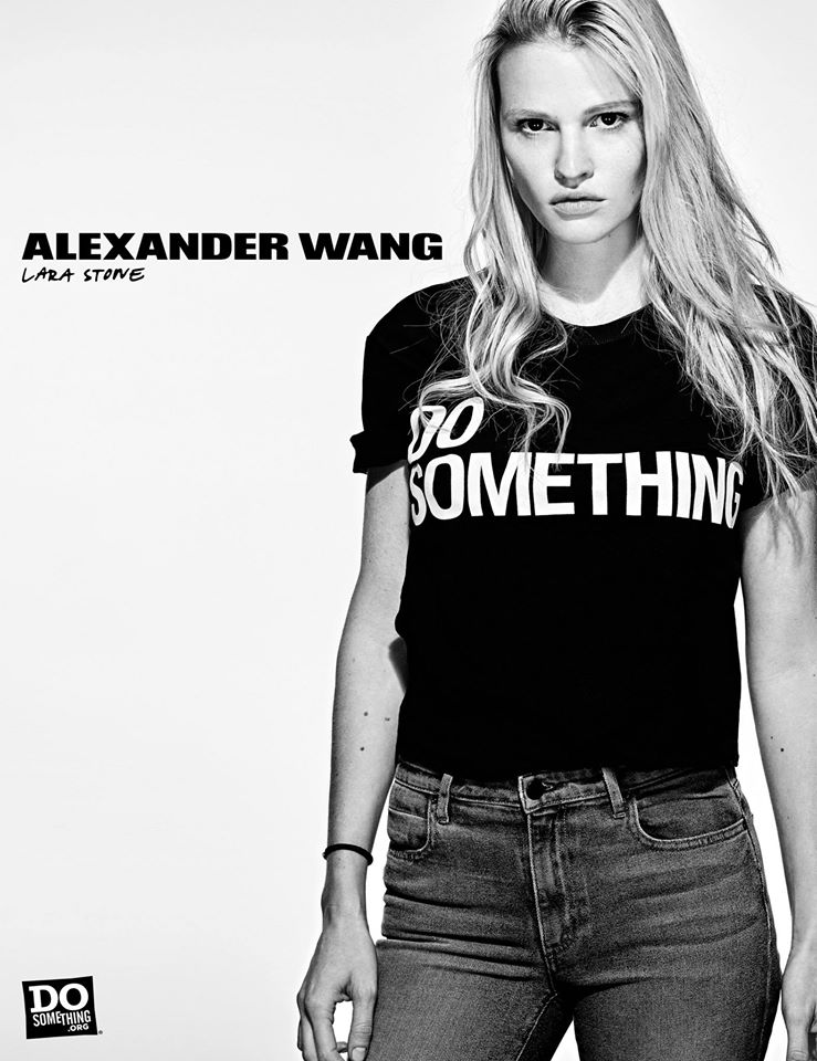Do Something Alexander Wang Campaign by Steven Klein at IDsetters Lara Stone