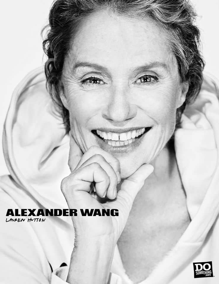 Do Something Alexander Wang Campaign by Steven Klein at IDsetters Lauren Hutton