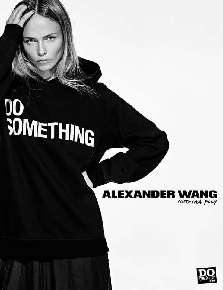 Do Something Alexander Wang Campaign by Steven Klein at IDsetters Natasha Poly