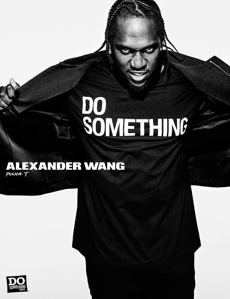 Do Something Alexander Wang Campaign by Steven Klein at IDsetters Pusha T
