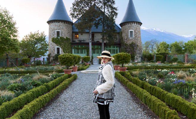 Chateau de Picomptel em Crots IDsetterstour