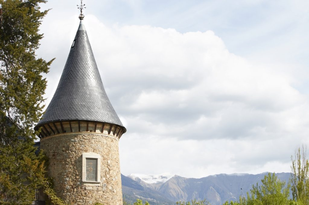 Chateau de Picomtal torre do castelo