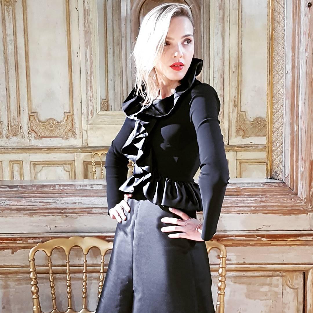 Ingrid Lima in Paris Fashion Week