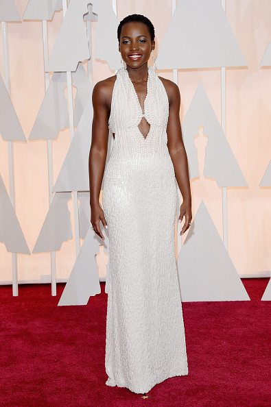 Lupita Nyong'o in Calvin Klein IDsetters Oscar 2015