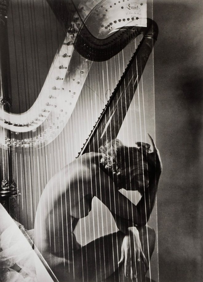 Lisa With Harp, 1939 IDsetters