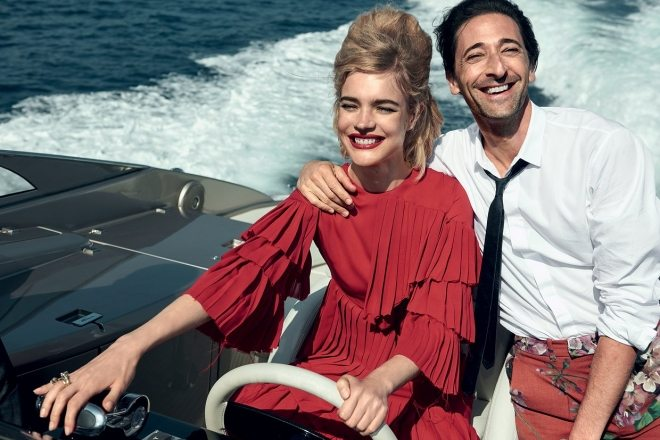 Natalia Vodianova & Adrien Brody by Peter Lindbergh for Vogue US IDsetters (10)