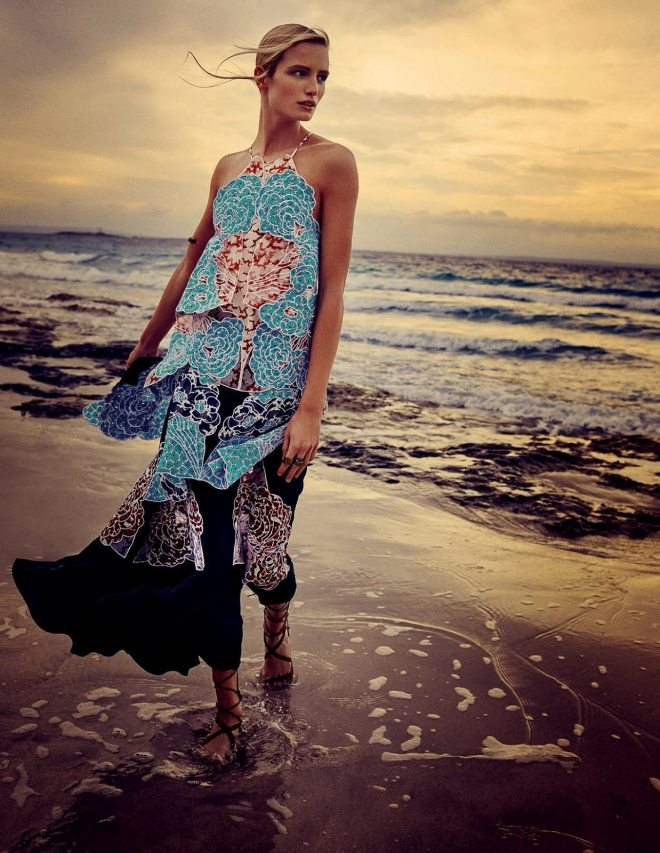 la isla bonita maud welzen by david burton for elle italia july 2015  IDsetters (1)