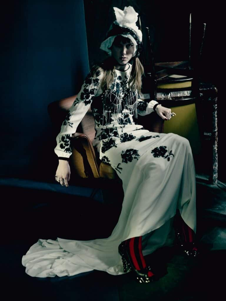UK VOGUE SEPTEMBER 2015 THE SHINING by Paolo Roversi IDsetters image only005