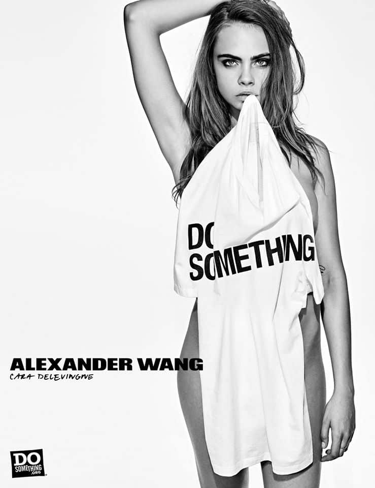 Do Something Alexander Wang Campaign by Steven Klein at IDsetters Cara Delevingne