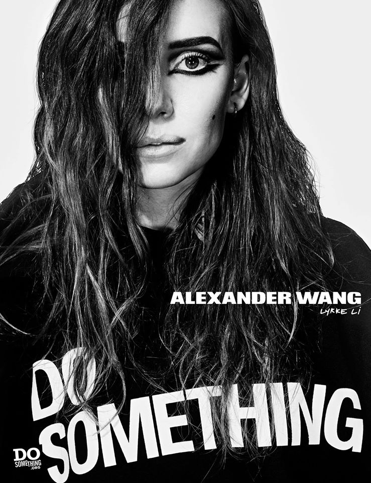 Do Something Alexander Wang Campaign by Steven Klein at IDsetters Lykke Li