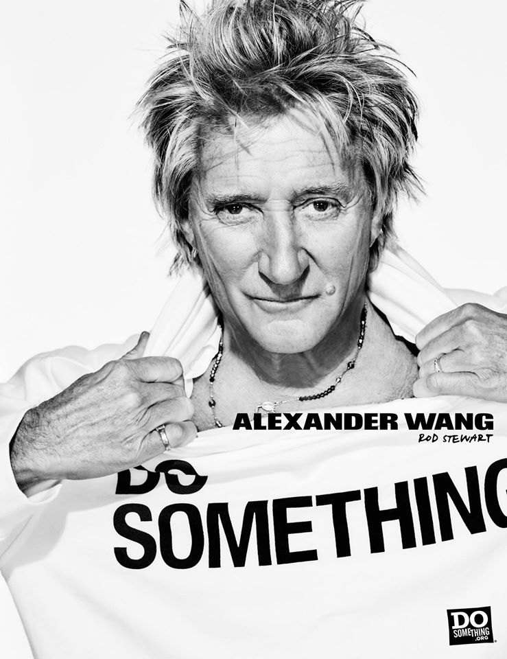 Do Something Alexander Wang Campaign by Steven Klein at IDsetters Rod Stewart