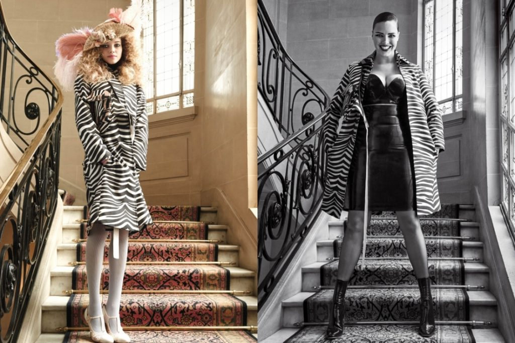 Kitty Hayes & Candice Huffine by Pamela Hanson CR fashion Book IDsetters (1)
