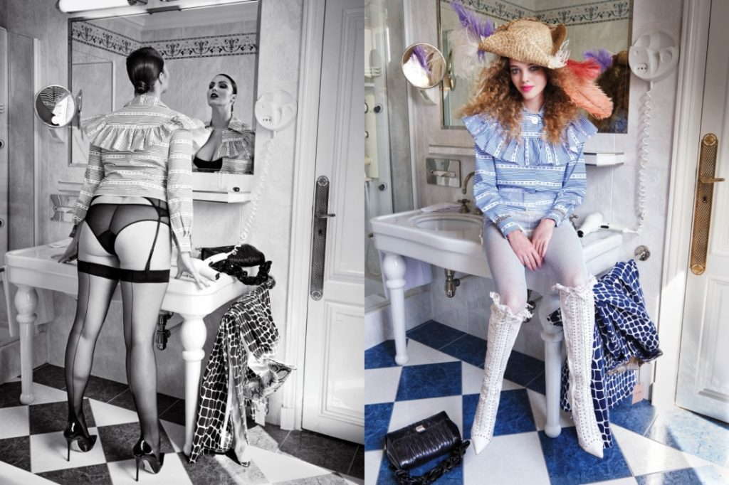 Kitty Hayes & Candice Huffine by Pamela Hanson CR fashion Book IDsetters (3)