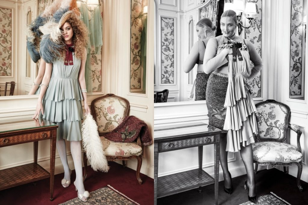 Kitty Hayes & Candice Huffine by Pamela Hanson CR fashion Book IDsetters (5)