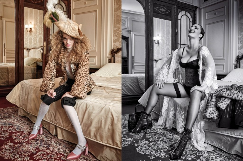 Kitty Hayes & Candice Huffine by Pamela Hanson CR fashion Book IDsetters (6)
