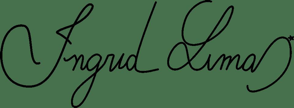assinatura ingrid lima