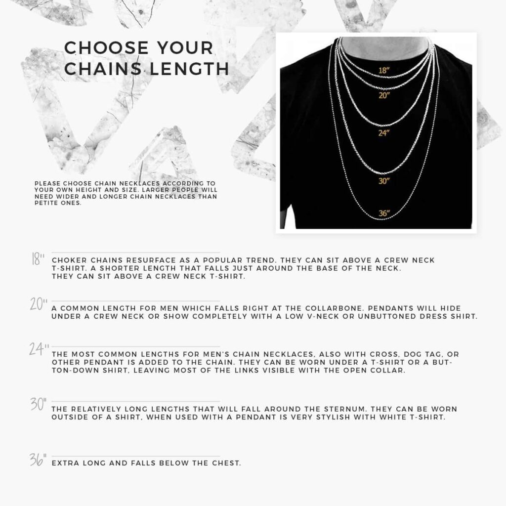 How to use male necklace? | IDsetters